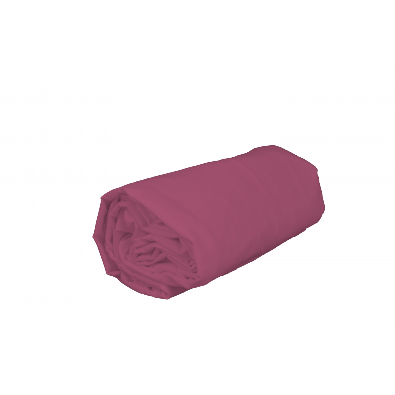 drap housse 1 personne 90 x 190 cm pur coton vieux rose. Black Bedroom Furniture Sets. Home Design Ideas