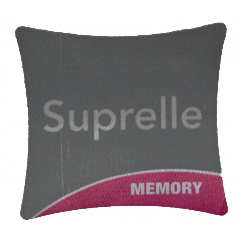 Oreiller m moire de forme 65 x 65 cm interblanc - Oreiller suprelle memory ...