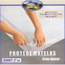 Protége matelas 90x190 100% coton