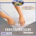 Protége matelas 160x200 100% coton